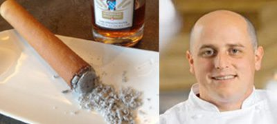 Chef Loris Lathion / Cigare au chocolat grand cru et au whisky Swiss Highlander